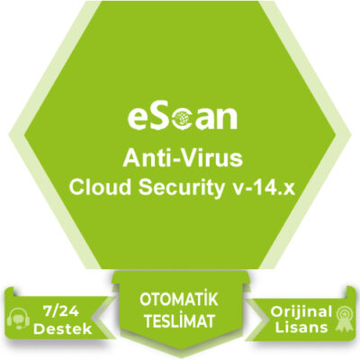 eScan Anti-Virus with Cloud Security V-14x