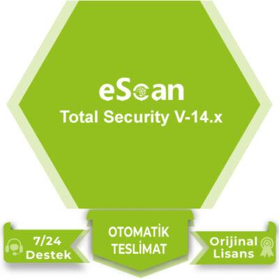 eScan Total Security V-14.x