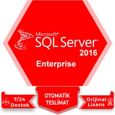 Microsoft SQL Server 2016 Enterprise