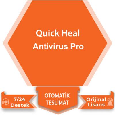 Qick Heal Antivirus Pro