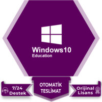 Windows 10 Education Lisans