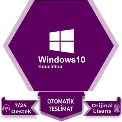 Windows 10 Education Lisans