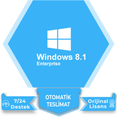 Windows 8.1 Enterprise Lisans