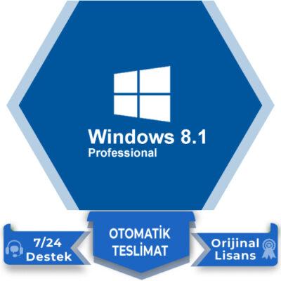 Windows 8.1 Pro Lisans