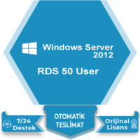 Windows Server 2012 RDS 50 User