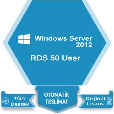 Windows Server 2012 RDS 50 User