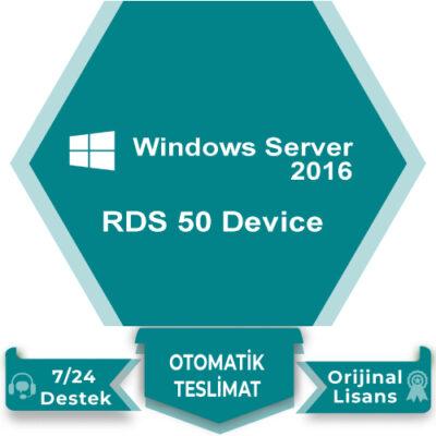 Windows Server 2016 RDS 50 Device