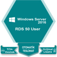 Windows Server 2016 RDS 50 User