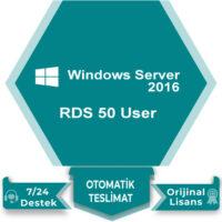 Windows Server 2016 RDS 50 User