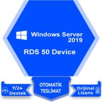 Windows Server 2019 RDS 50 Device