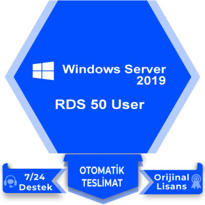 Windows Server 2019 RDS 50 User