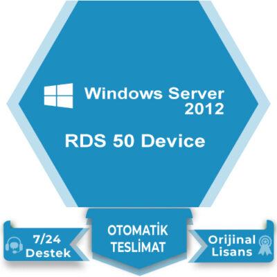 Windows Server 2012 RDS 50 Device
