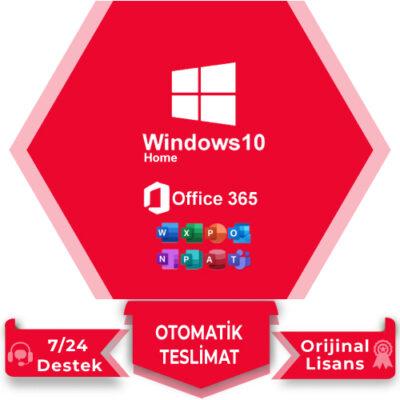 Windows 10 Home Office 365
