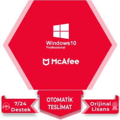 Windows 10 Pro Mcafee