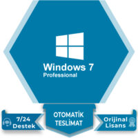 Windows 7 Pro Lisans