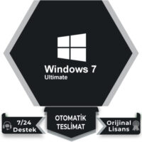 Windows 7 Ultimate Retail Lisans