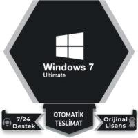 Windows 7 Ultimate Retail Lisans